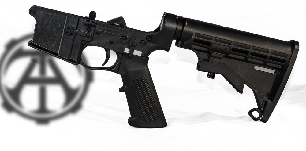 Complete AR15 style Lower Receiver