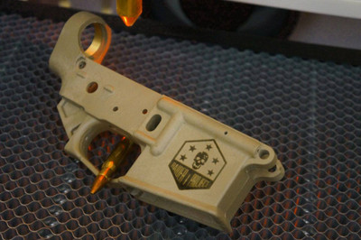 RaiderProject.org Engraved Receiver