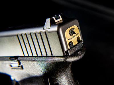 Custom Glock Slide Backplate