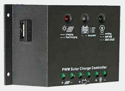 SolarLand SLC-NR1012UL 10A 12/24V PWM Charge Controller with USB Output