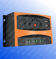 SolarLand NR2410C 10A 12/24V PWM Charge Controller