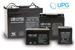 Universal Power 12V 22Ah AGM Battery