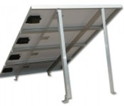 Adjustable Tilt Roof Mount Kit for 4 Panels