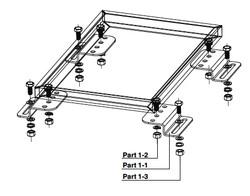 RV Flush Mounting Kit
