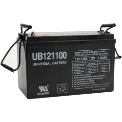 UPG Battery Bank (12VDC, 660Ah)