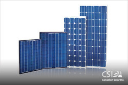 Canadian Solar 260W 24V Poly Solar Panel