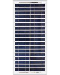 Ameresco Solar 30J 30 Watt, 12V Polycrystalline Solar Panel w/ IP65 Junction Box (AMS030J)