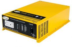 GO POWER! 1500W Pure Sine Wave Inverter - 12V