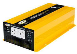 GO POWER! 1500W High Surge Pure Sine Wave Inverter - 12V