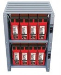 Outback Indoor 2 Shelf Integrated Battery Rack