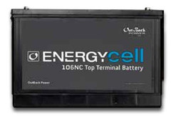 OutBack Power EnergyCell® 12V 100Ah Nano-Carbon VRLA Deep-Cycle Battery for PsoC Applications (106NC)