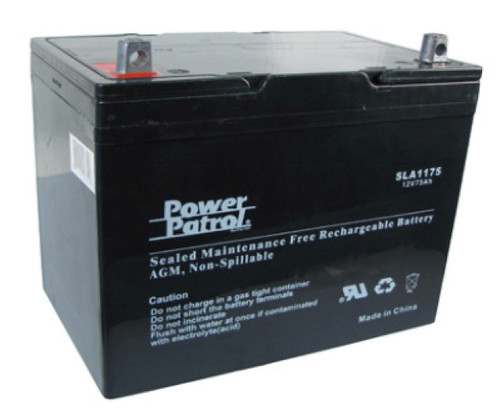 Interstate 174 Batteries Sla1185 12v 100ah Deep Cycle Agm Battery