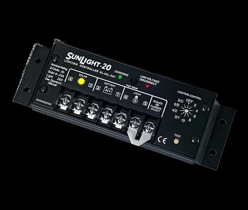 Morningstar Ss 20l 12 20 Amp 12v Pwm Charge Controller