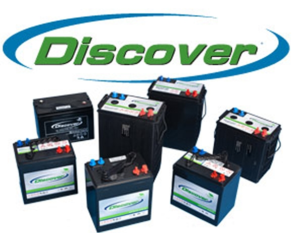 Discover 175Ah 12V Tubular Flooded Battery