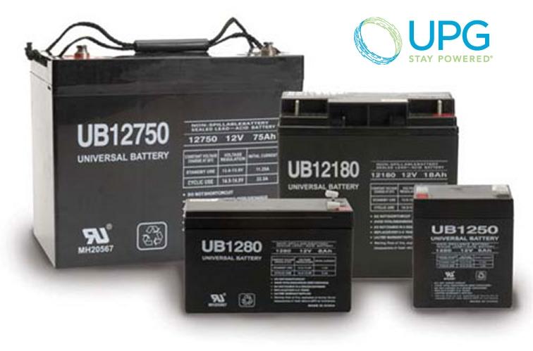 Universal Power 12V 74Ah GEL Battery
