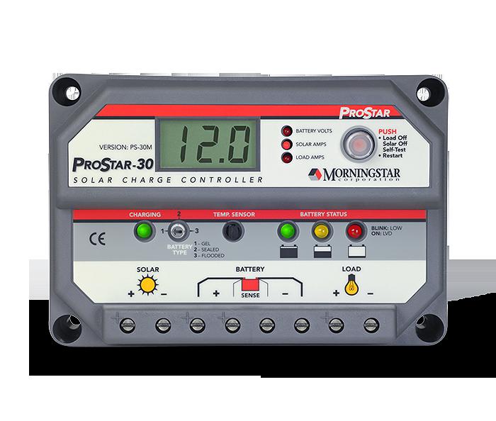 Morningstar ProStar PS-30M-PG Charge Controller