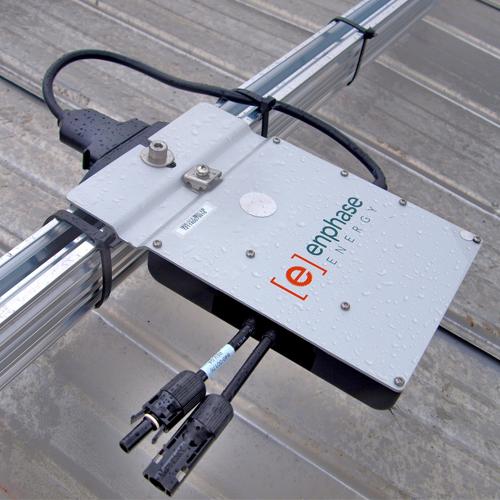Enphase Energy 215 Watt, 208/240 VAC Microinverter TYCO 4MM (M215-60-2LL-S23)