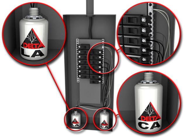 Delta LA302DC Surge Protector
