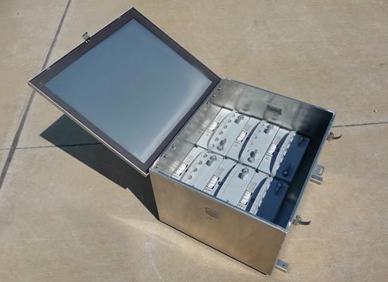 4BS2000 Aluminum Battery Enclosure (4BS2000)