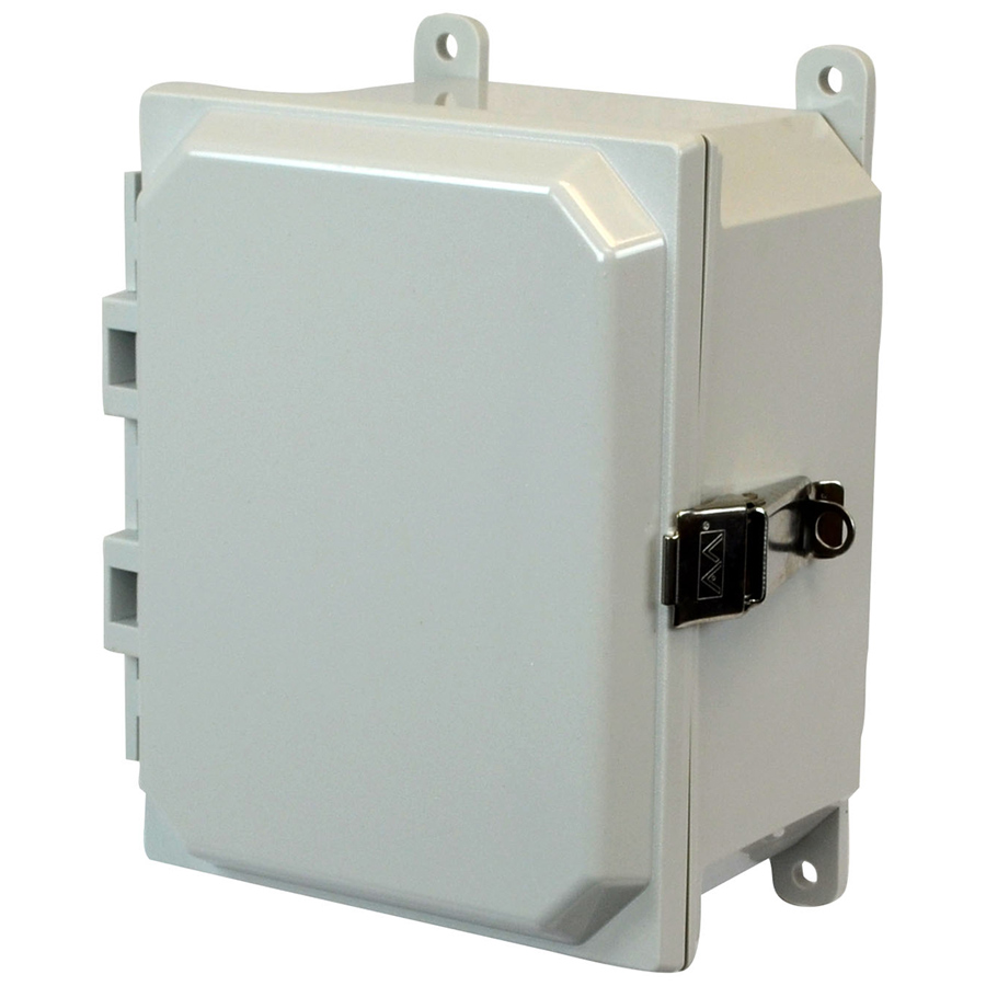 AM864L Fiberglass Battery Enclosure