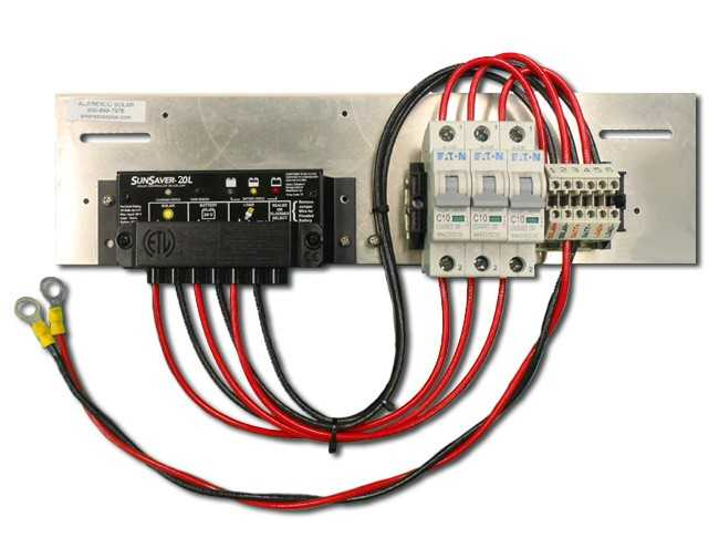 Prewired Backplate with SS-20L-12V Controller