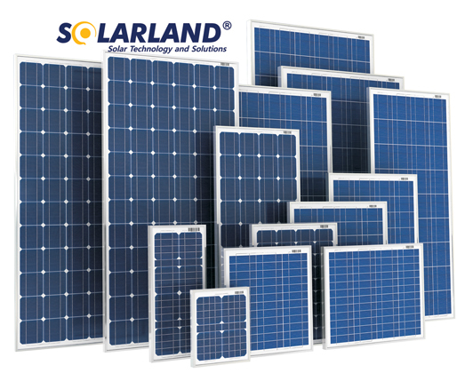 SolarLand SLP110-12U 110W 12V Solar Panel