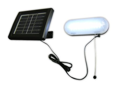 Solar Shed Lamp