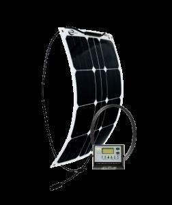GO POWER! 30W Solar Flex Kit w/ 10A Digital Controller