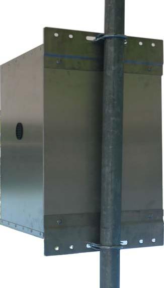 ValueLineSolar • Powder Coated Aluminum Battery Enclosure  (VL-BB-1-PC)