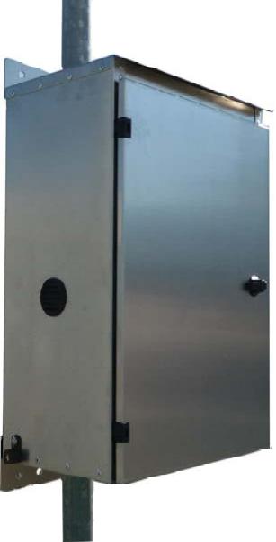 Mr. Solar® Value Line Powder Coated Aluminum Battery Box/Enclosure (VL-BB-MINI-PC)