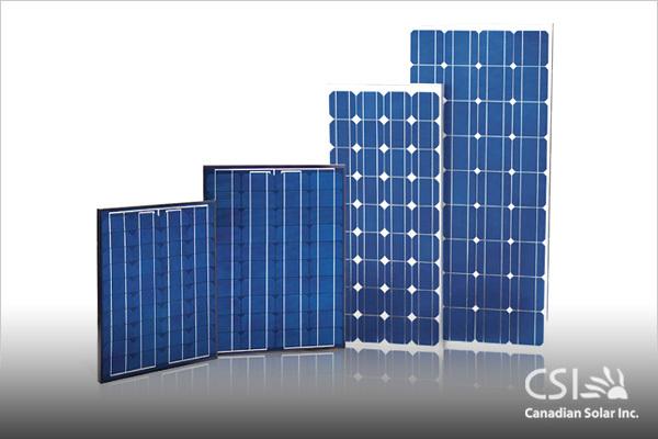 Canadian Solar 265W 24V Poly Solar Panel