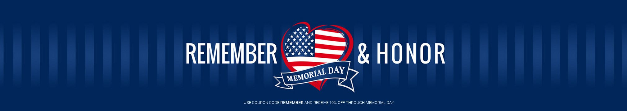 Remember and honor those who gave the ultimate sacrifice to keep us free.