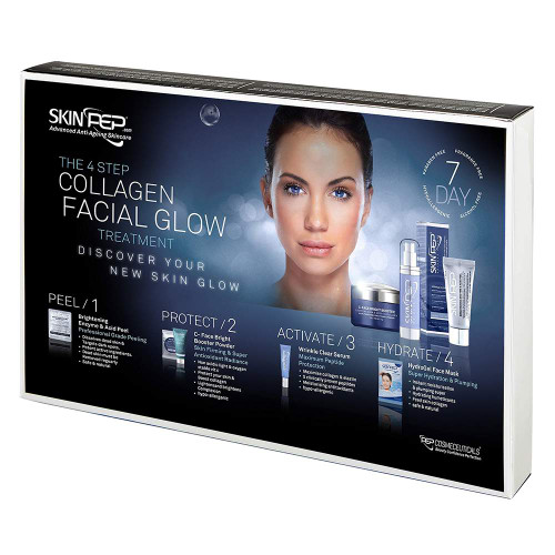 4 Step Collagen Facial Glow Treatment - 7 Day Set