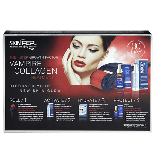 4 Step Growth Factor Vampire Collagen Treatment