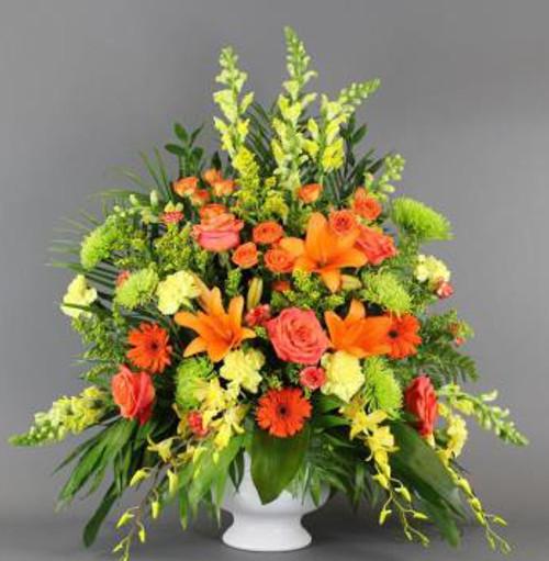 Orange Sympathy Basket-FNFSB-05