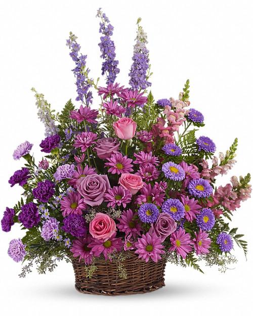 Lavender Sympathy Basket-FNFSB-30