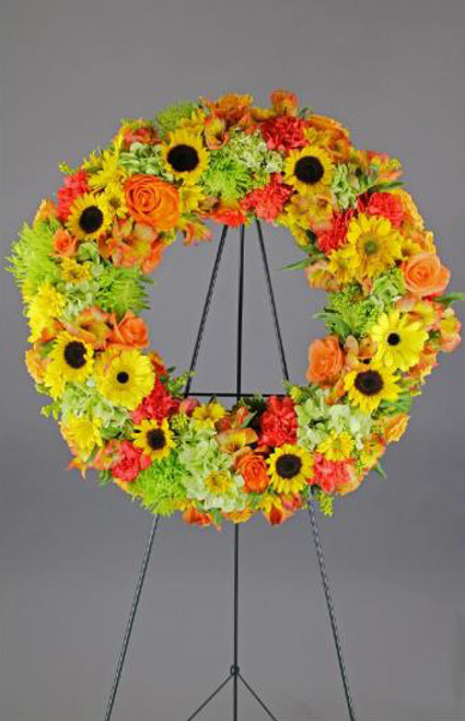 Sunny Colors Wreath-FNFSW-09