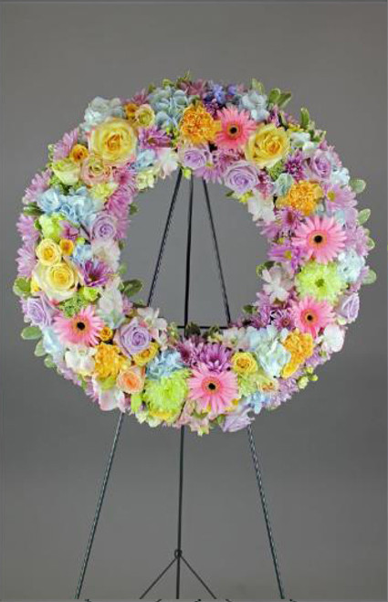 Candy Colors Wreath-FNFSW-11