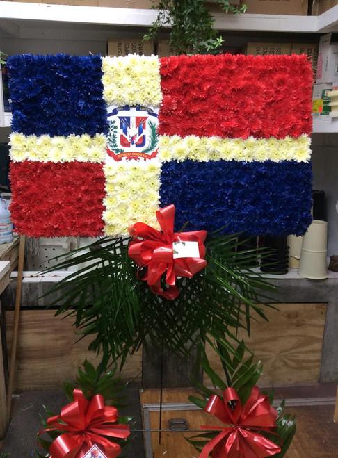 The Dominican Flag-FNDOM-01