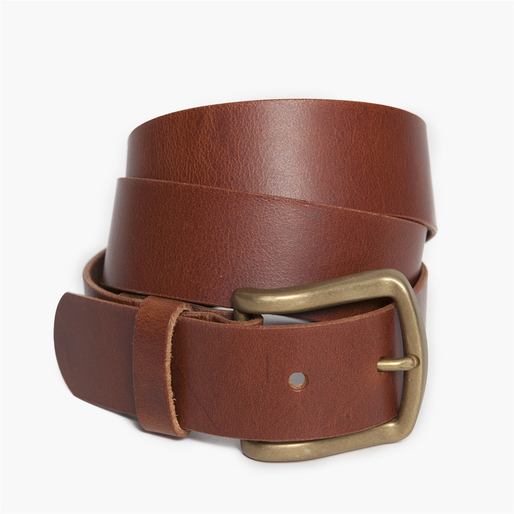 Antique Douglas Belt in Cognac by Moore & Giles