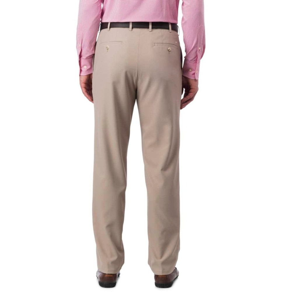 Durham 'Crown Sport' Performance Pant in Khaki (Size 36 Only) by Peter Millar