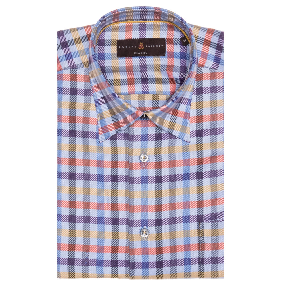 Hansen Plaid Regular Fit Sport Shirt Pay With Paypal Cheap Price w6IND3I