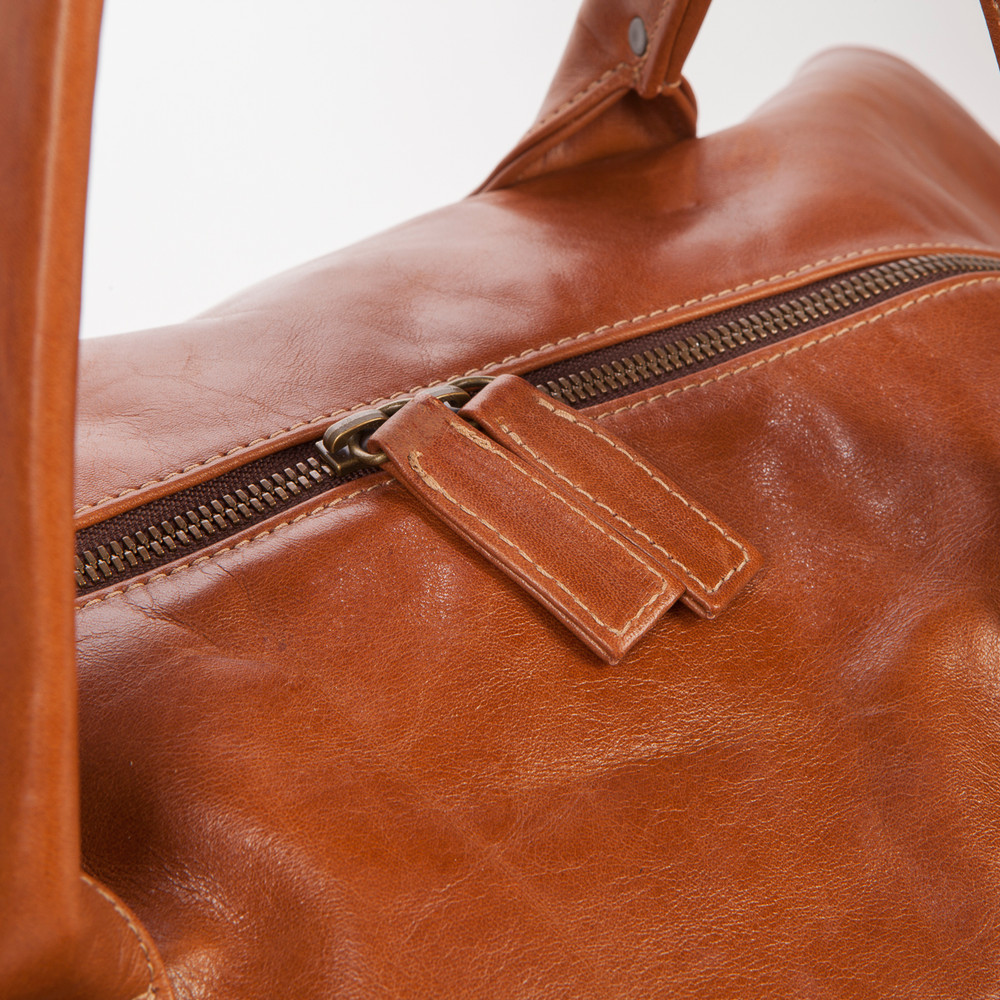 Benedict Weekend Bag in Terra Thicket by Moore & Giles