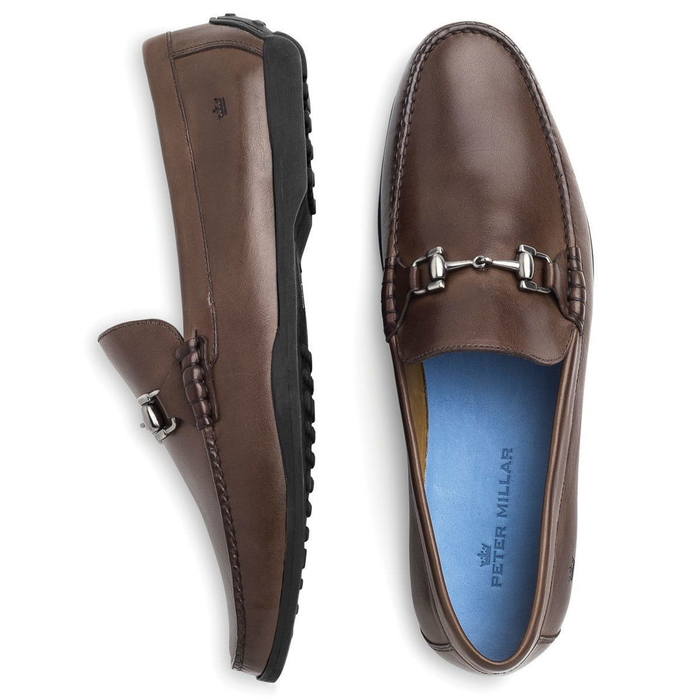 Bit Loafer in Chocolate by Peter Millar