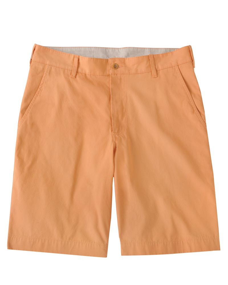 The Southport Twill Parker Short in Papaya by Bills Khakis