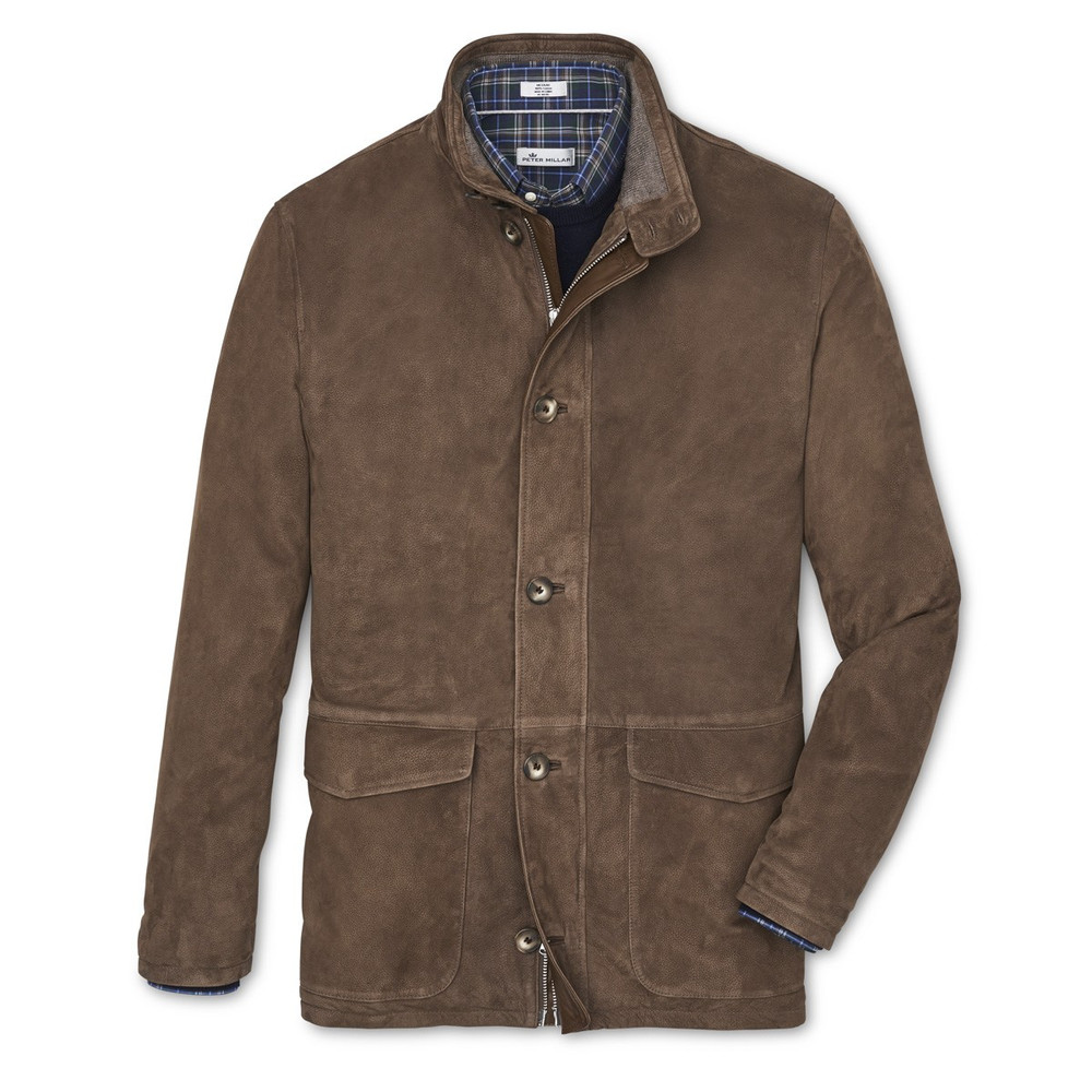 Glenwood Leather Jacket by Peter Millar