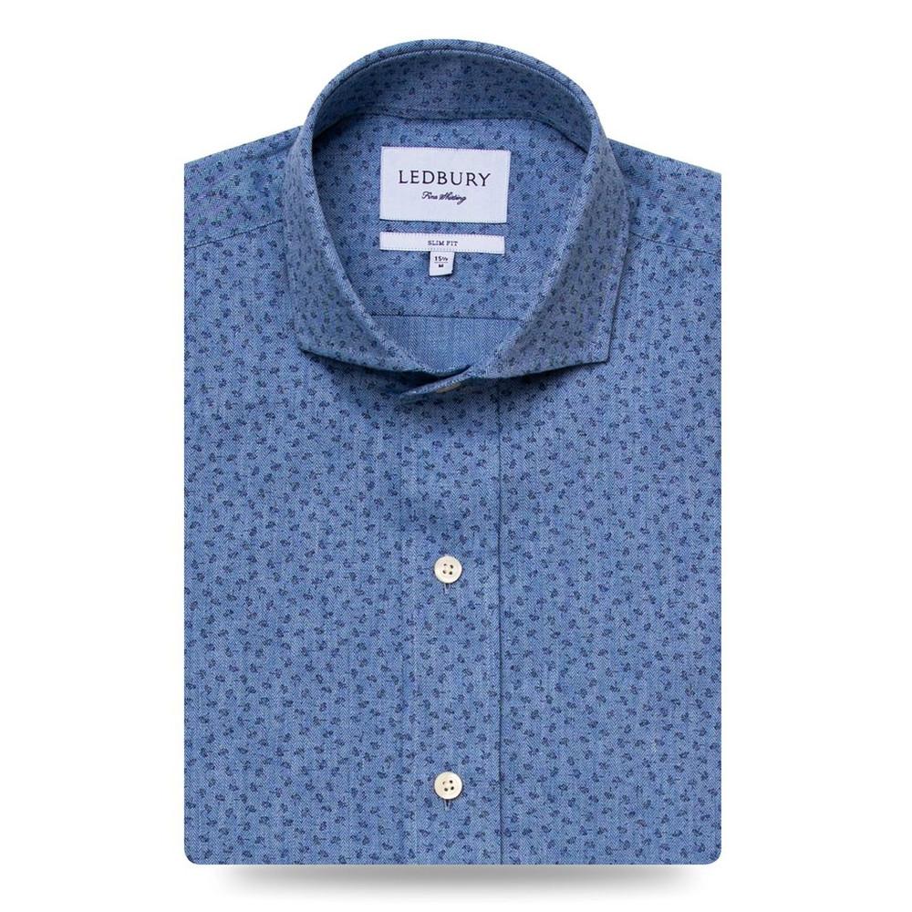 The Beechmont Printed Flannel Shirt by Ledbury