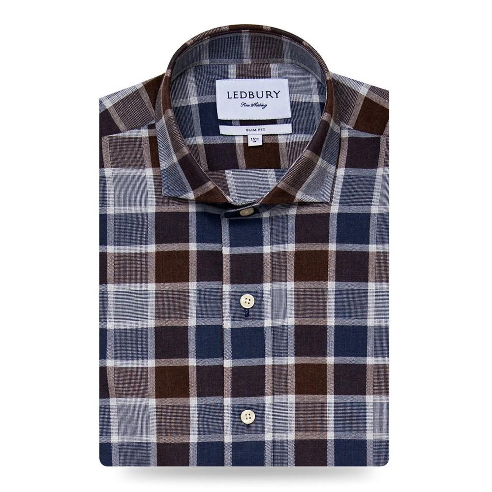 The Tennyson Plaid Shirt by Ledbury