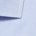 100's 2-Ply Royal Oxford Dress Shirt with Wide Spread Collar in Blue (Tailored Fit) by Gitman Brothers