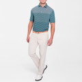 EB66 Performance Six-Pocket Pant in Stone 'Crown Sport' by Peter Millar